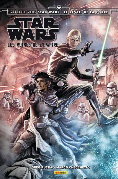 Couverture Star Wars - Les ruines de l'Empire