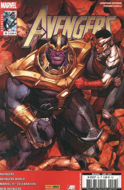 Couverture Avengers 2013 tome 26