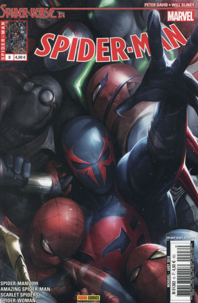 Couverture Spider-Man 2014 tome 8