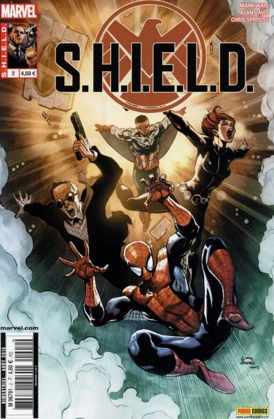 Couverture S.H.I.E.L.D. tome 2