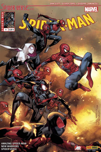 Couverture Spider-Man 2014 tome 9