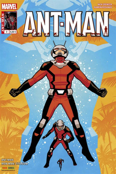 Couverture Ant-Man tome 2