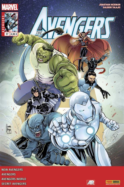 Couverture Avengers 2013 tome 27
