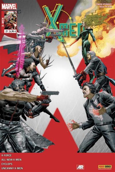 Couverture X-Men 2013 tome 27