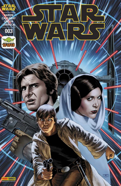 Couverture Star Wars fascicule tome 3 - Cover John Cassaday