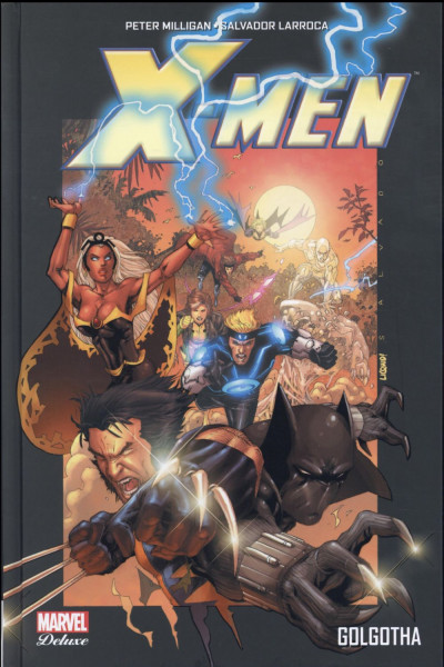 Couverture X-Men - Golgotha