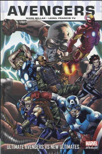 Couverture Ultimate Avengers tome 3