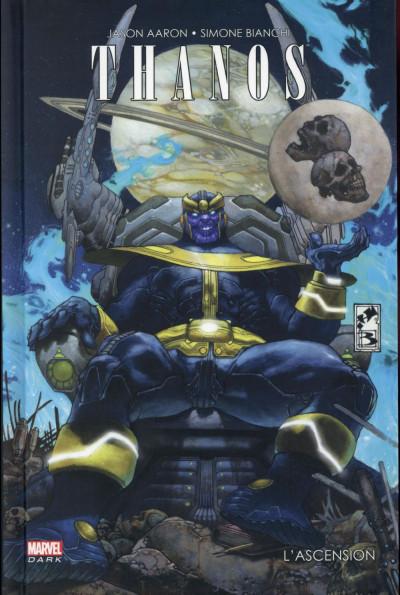 Couverture Thanos - l'ascension de Thanos