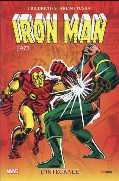 Couverture Iron Man - Intégrale 1973