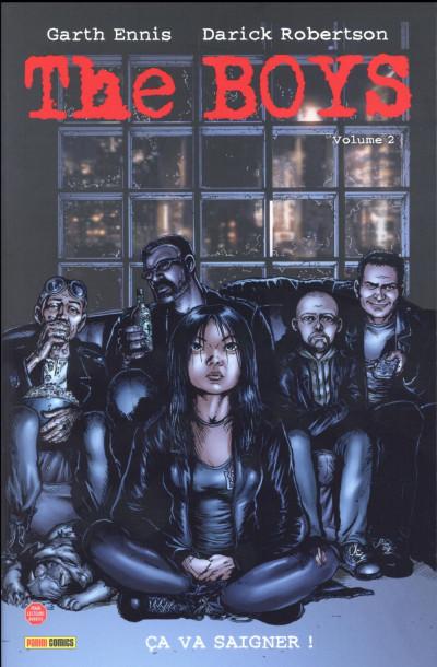 Couverture The boys - nouvelle édition tome 2