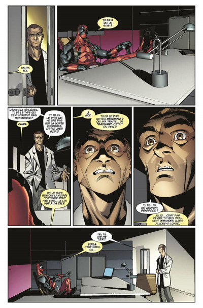 Page 0 Deadpool tome 3