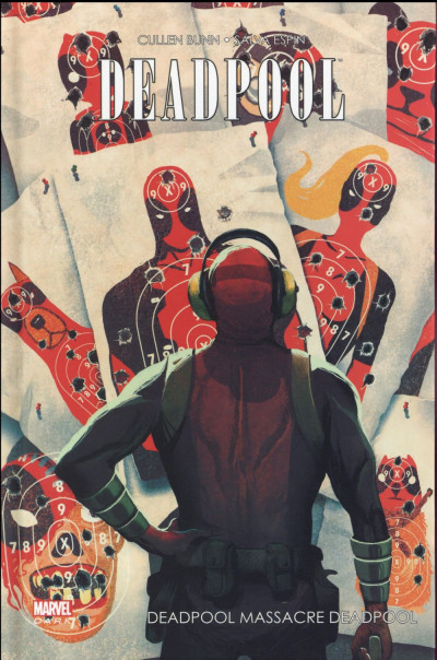 Couverture Deadpool massacre Deadpool