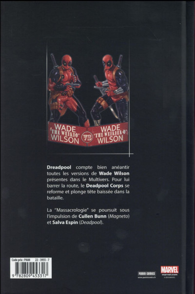 Dos Deadpool massacre Deadpool