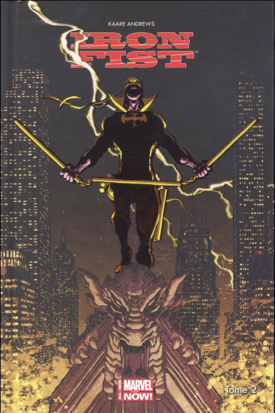 Couverture Iron Fist tome 2