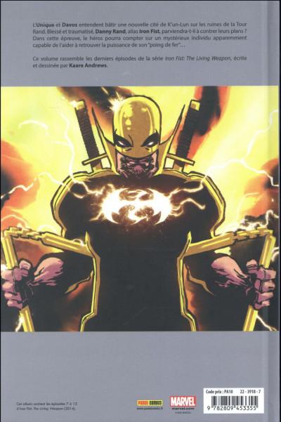Dos Iron Fist tome 2