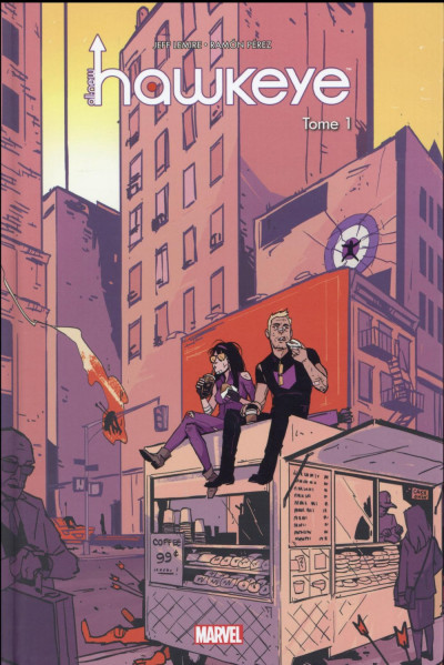 Couverture All-New Hawkeye tome 1