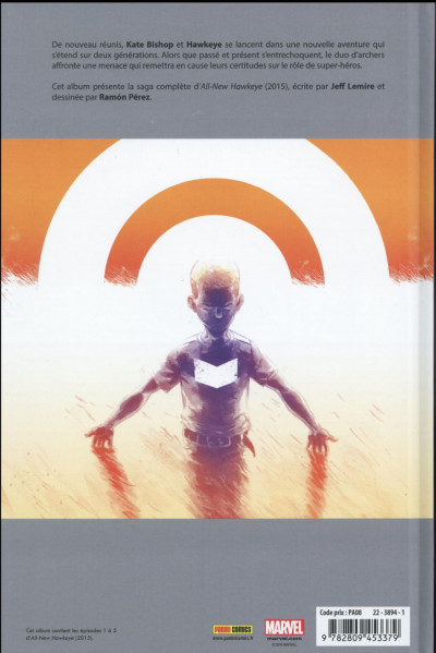 Dos All-New Hawkeye tome 1