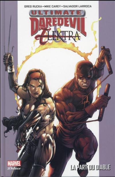 Couverture Ultimate Daredevil et Elektra