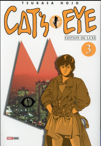 Couverture Cat's Eye tome 3 - édition 2015