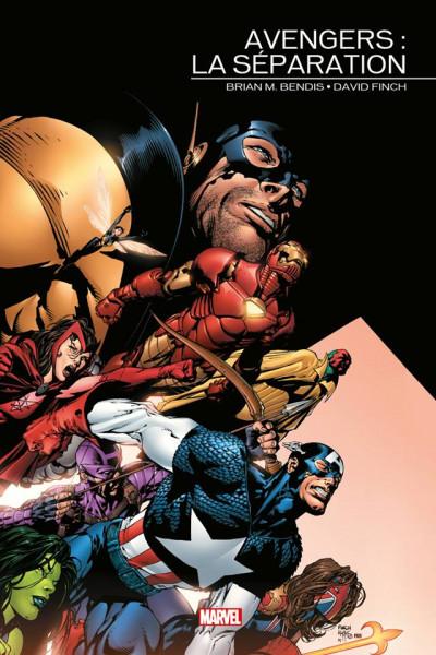 Couverture Avengers - La séparation