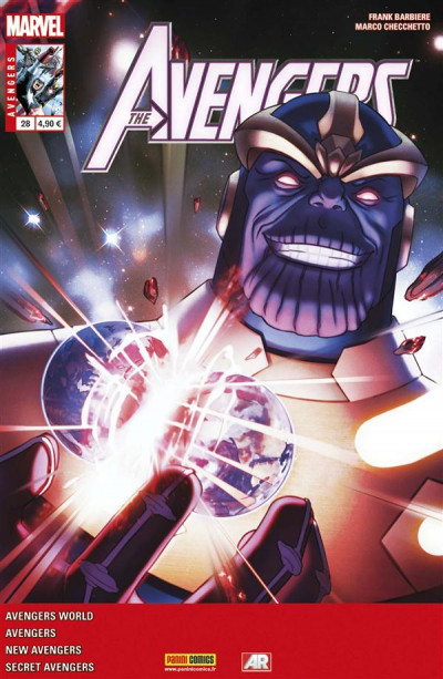 Couverture Avengers 2013 tome 28