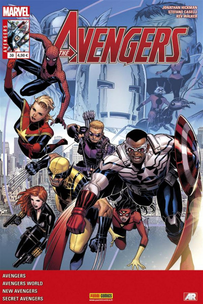 Couverture Avengers 2013 tome 30