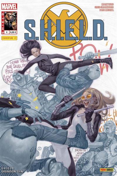 Couverture S.H.I.E.L.D. tome 4 - Cover 1/2