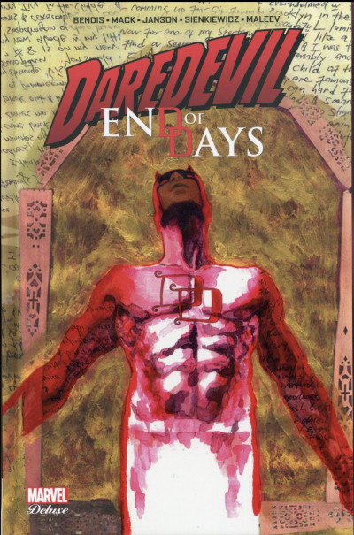 Couverture Daredevil - End of days