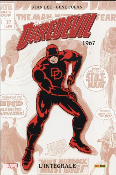 Couverture Daredevil - intégrale tome 3 - 1967