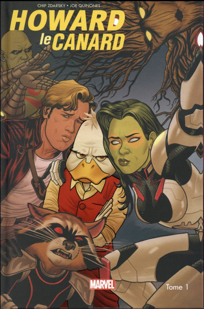 Couverture Howard le canard tome 1