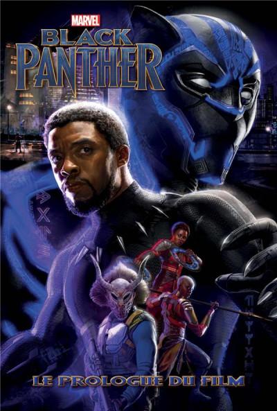 Couverture Black panther - le prologue du film