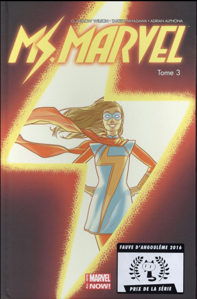 Couverture Ms. Marvel tome 3