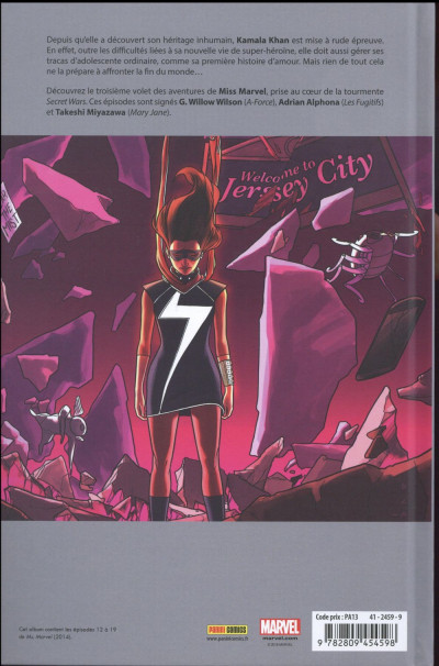 Dos Ms. Marvel tome 3