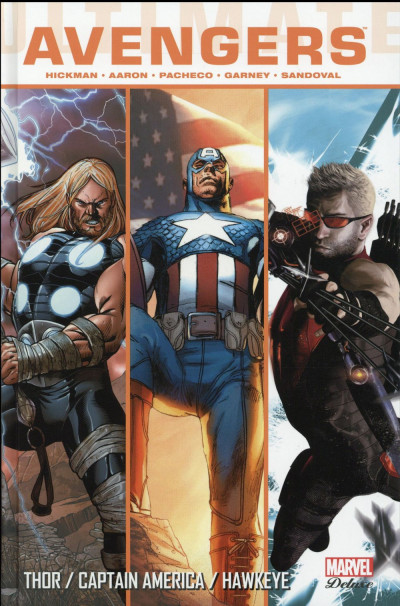 Couverture Ultimate Comics - Avengers