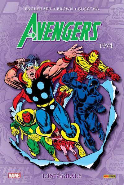 Couverture Avengers tome 11 - Intégrale 1974