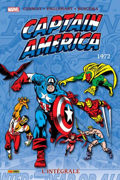 Couverture Captain America - Intégrale tome 6 - 1972