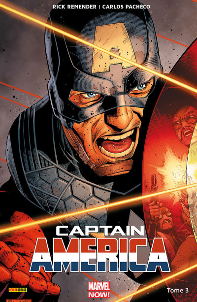 Couverture Captain America tome 3