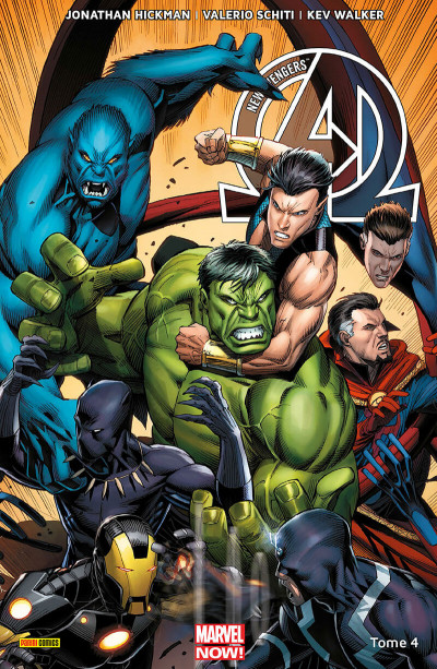 Couverture New Avengers tome 4