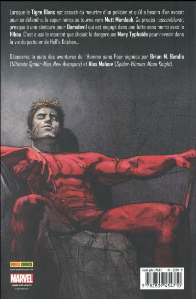 Dos Daredevil, l'homme sans peur tome 2