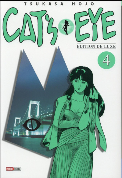 Couverture Cat's eye tome 4 - édition 2016