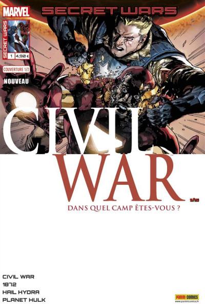 Couverture Secret wars : Civil war tome 1 - Cover 1/2 L. Yu