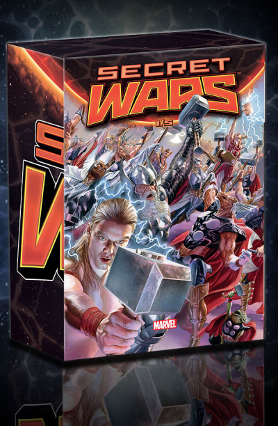 Couverture Secret wars coffret tome 1