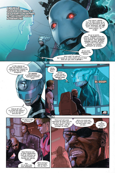 Page 6 Secret wars tome 1 - Cover 1/2 Alex Ross