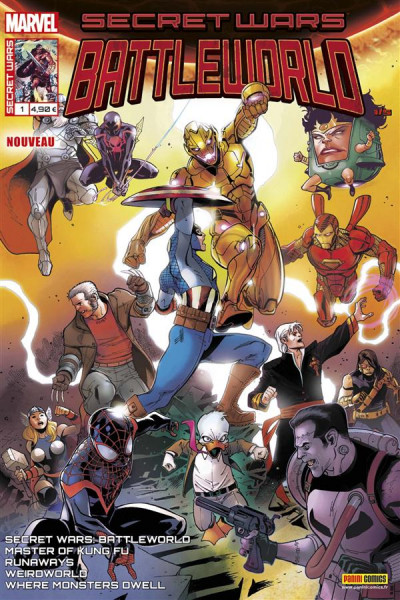 Couverture Secret wars : Battleworld tome 1