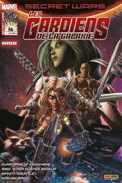 Couverture Secret wars : Les gardiens de la galaxie tome 1