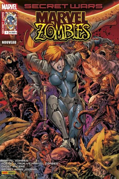 Couverture Secret wars : Marvel zombies tome 1