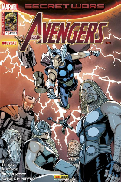 Couverture Secret wars : Avengers tome 1