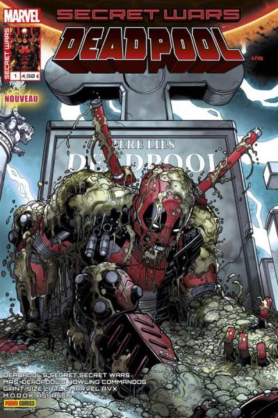 Couverture Secret wars : Deadpool tome 1