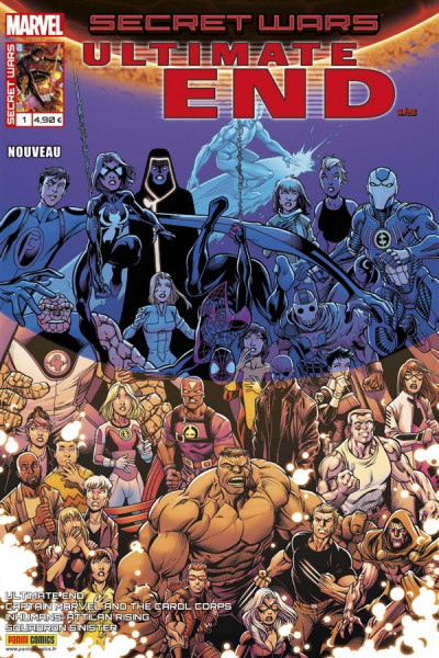 Couverture Secret wars : Ultimate end tome 1