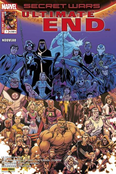 Couverture Secret wars : Ultimate end tome 1